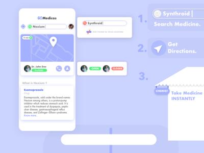Medicos App Design