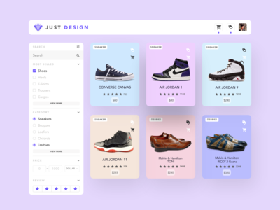 Just Design ( E-Commerce Design )