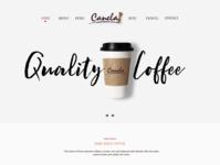 Canela Espresso Bar Hoem Page