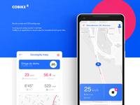 Cobike tracking app