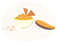 Sweet potatoe houmous