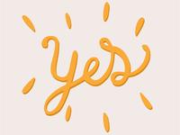 I said YES ! ❤