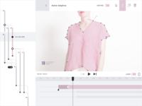 Interactive Video Editor Concept