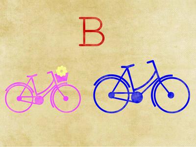 Baby shower invites bikes simple icon baby shower invites bicycle retro flower