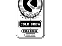 Coffee Label Cold Brew