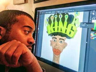 Working on King fielddesigns toronto