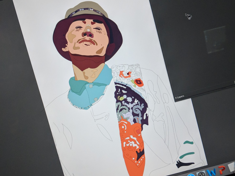 Graphic Tuesday! Trusting in process.
