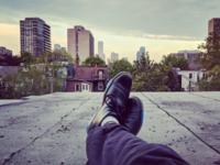 My roof. Toronto!