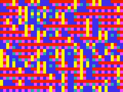 10print (Commodore 64 Color Coding)
