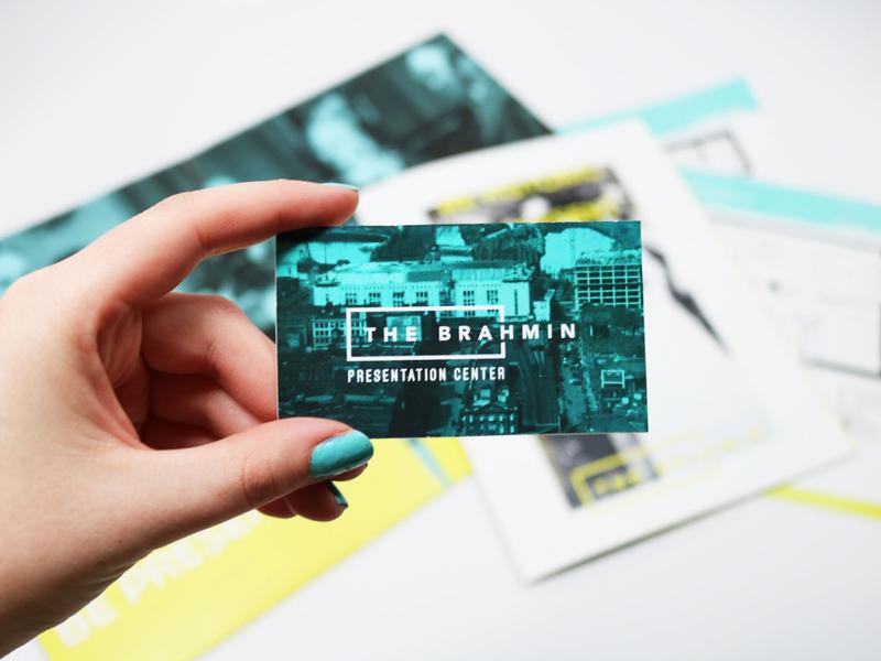 The Brahmin Business Card graphic vector typography illustrator design brand design branding logo business cards businesscard