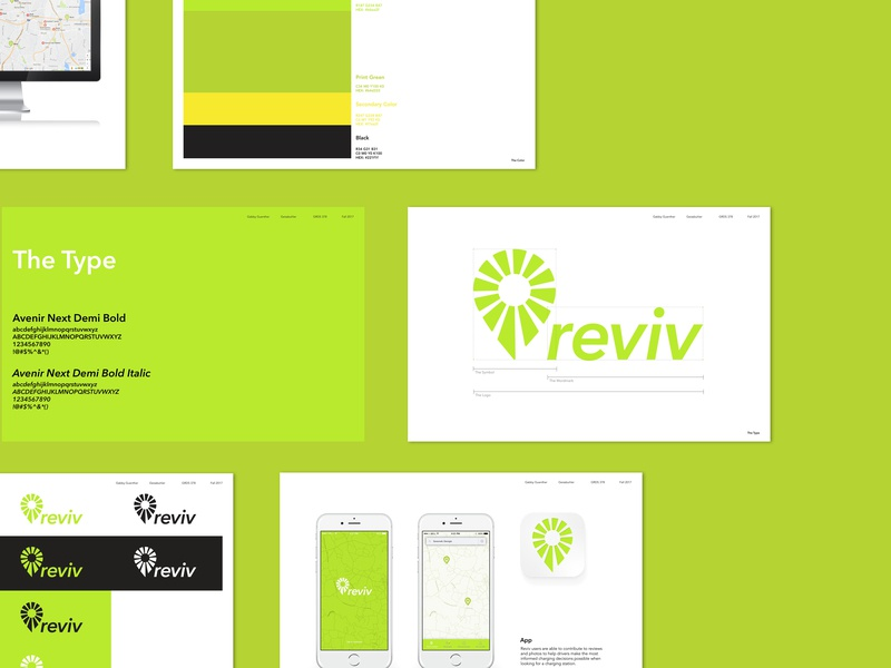 Reviv Brand Guidelines brand identity presentation design presentation typography vector logo illustration branding illustrator graphic design