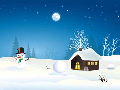 Snow Game Background snow flake art direction illustration art game