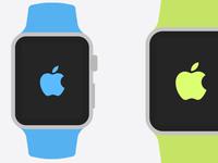 Apple Watch Flat Templates