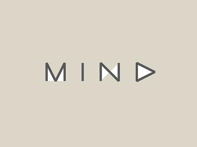 Mind typography type font logo mind