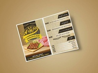menu restaurants design