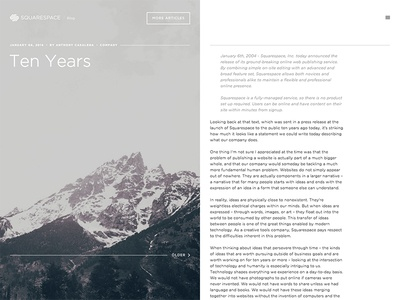Squarespace Blog squarespace blog web interactive gotham layout mountain