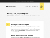 Ready, Set, Squarespace Email
