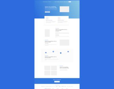 API Storefront Homepage