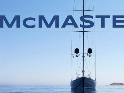 Mcmaster website web design charter yachts