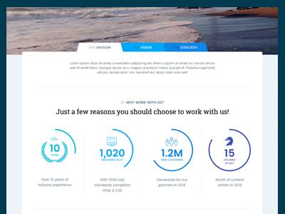 Internet Media Company Web Concept