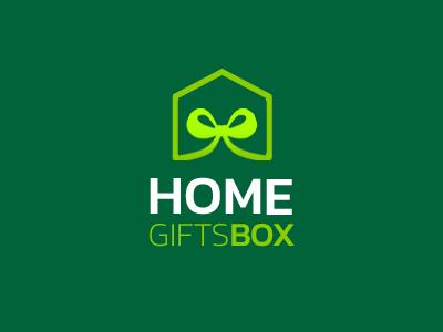 Home Gift Box Logo Concept