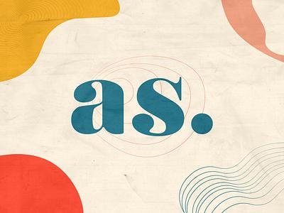 Aspiração - Isotipo icon logo branding typography flat minimal adobe illustrator vector design illustration
