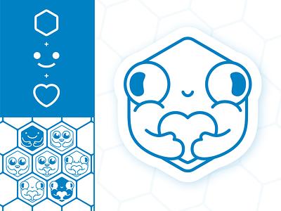 Fazer o Bem illustrator negative space branding adobe illustrator icon logo flat minimal design illustration vector