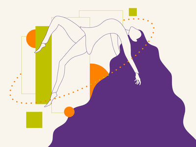 Desapega! website web design flat minimal adobe illustrator vector illustration