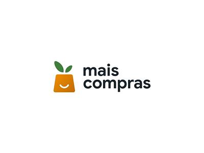 Mais Compras logo animation animated gif animation modern illustration business vector logotype logo logo design flat design branding
