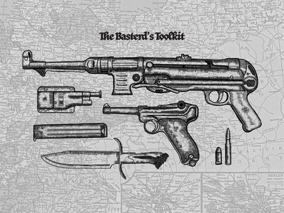 The Basterd's Toolkit design illustration
