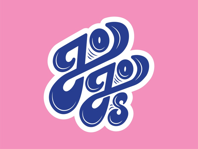 Jojo's branding logodesign logotype logo design