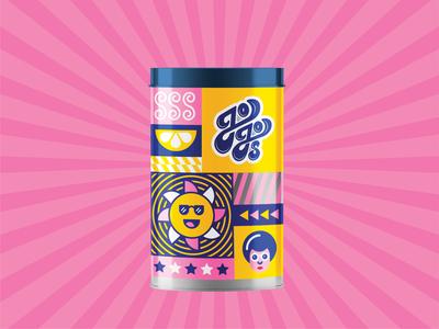 Jojo's package design package packaging logodesign logo branding illustration design