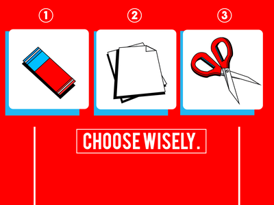 Choose Wisely! visual identity poster visual art illustration visual design graphic design