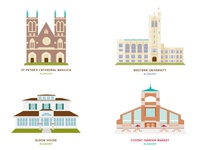 City illustrations