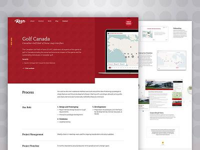 Case Studies detail case study homepage story gradient colourful landing website agency portfolio