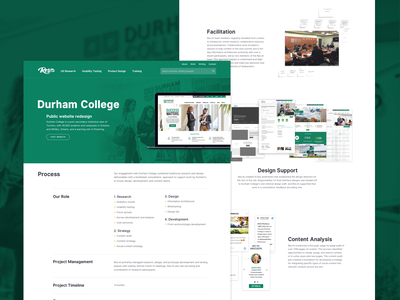 New Case Study case study home page landing page minimal clean green agency portfolio work