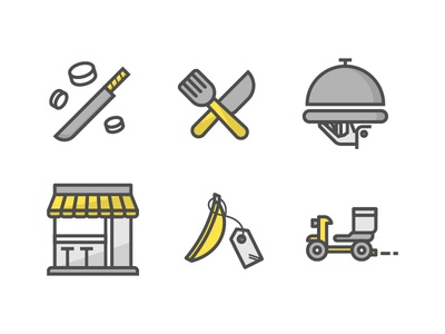 Food Service - Icons