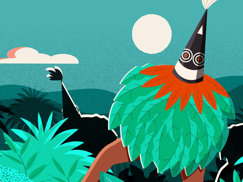 From Shell Money to Sharing south america papua new guinea png culture design minimal editorial editorial illustration vector illustrator illustration