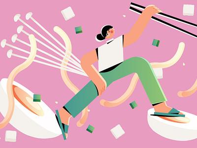 Sourced Journeys culture food design minimal editorial editorial illustration vector illustrator illustration