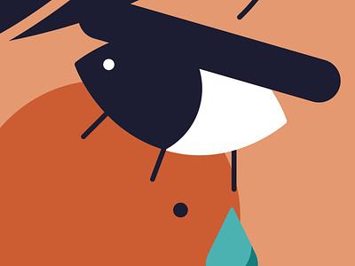 new social profile photo character design editorial minimal editorial illustration vector illustrator illustration
