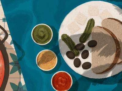 The Best Breakfast Spots in Lev Ha'ir, Tel Aviv