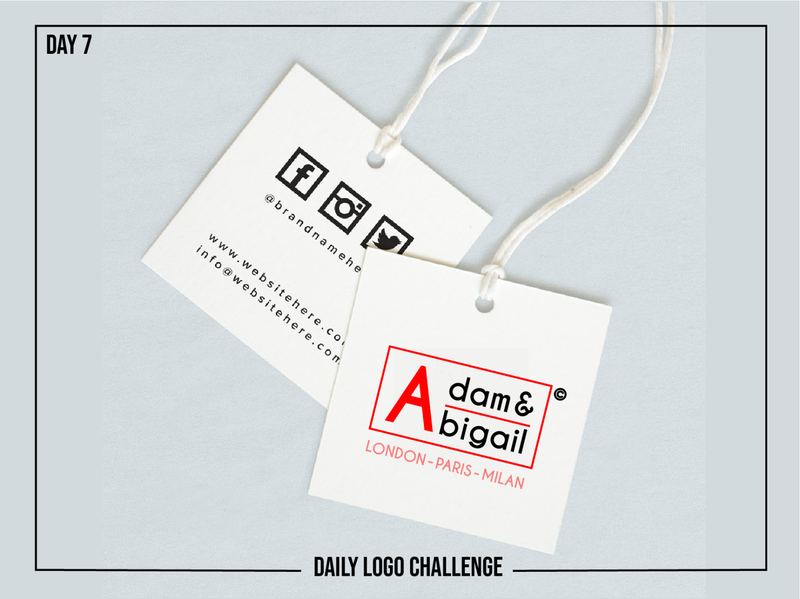 Day 7 - Fashion brand word mark dailylogochallengeday7 fashion brand fashion adobe illustrator illustrator website minimal typography design dailylogochallenge branding logo illustration icon