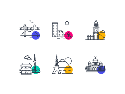 Office Location - Icons