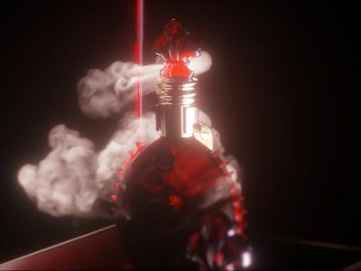 Remy martin red knight smoke