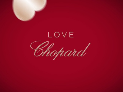 Chopard Love motion design animation parfum