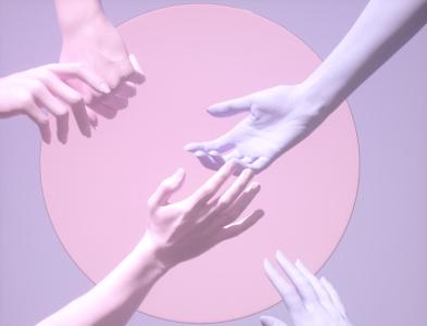 hands surealism octanerender 3d art direction illustration design motion design