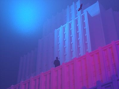 Fog octanerender surealism 3d art direction