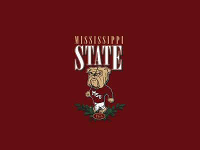 Vintage Mississippi State Design