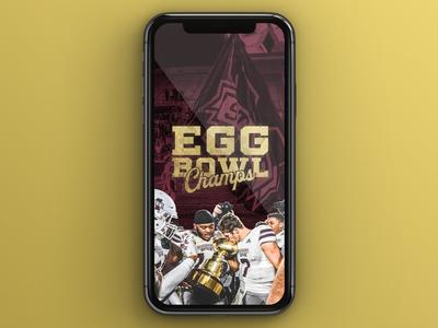Egg Bowl Champs mobile wallpaper