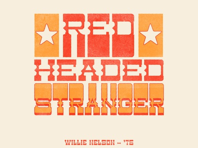 Red Headed Stranger
